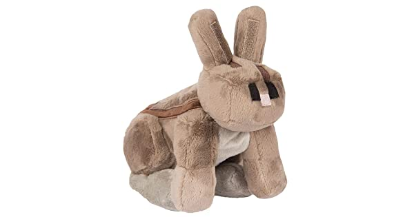 8 Tall Multi-Color, 8 Tall 6365 JINX Minecraft Rabbit Plush Stuffed Toy