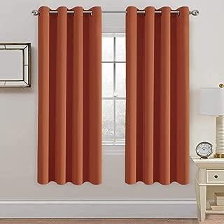 Best burnt orange blackout curtains Reviews