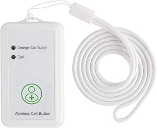 Vive Wireless Call Button - Emergency Alert System for Patients - Smart Portable Medical Panic Button - Notifies Nurse or Caretaker When Elderly Senior Needs Help - Perfect for Home Wander Prevention