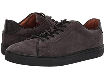 Frye Walker Low Lace (Slate Oiled Suede) Men