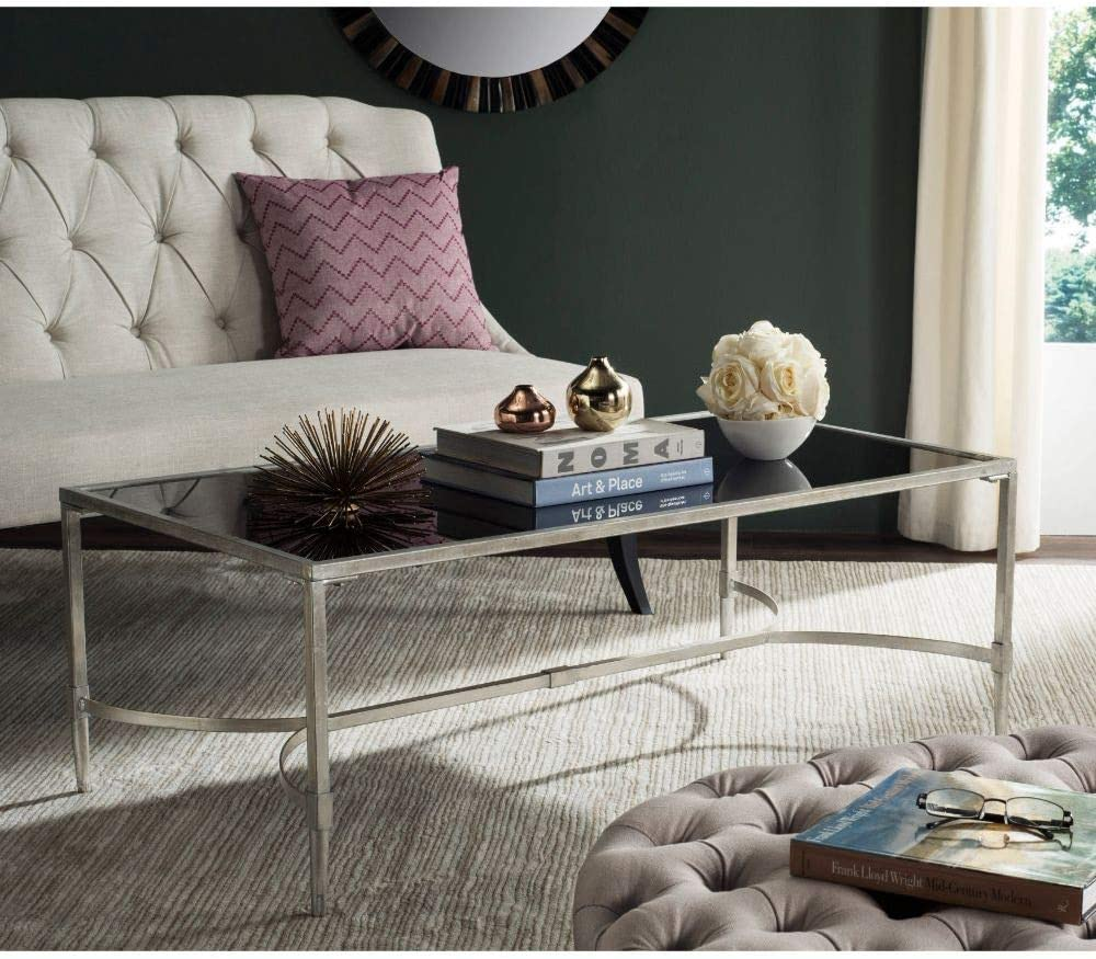 Max 73% OFF Safavieh Home Collection Antwan Max 75% OFF Table Coffee Silver