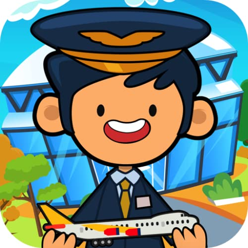 My Pretend Airport - Kids Travel Town & International Airport City Games