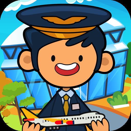 My Pretend Airport - Kids Travel Town & International Airport City Games