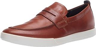 حذاء رياضي رجالي مطبوع عليه Cathum Penny Loafer من Eco، لون كهرماني مقاس 8-8. 5