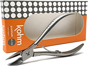 Kohm KP-700 Toenail Clippers for Thick/Ingrown Nails, Surgical Grade Stainless Steel,..