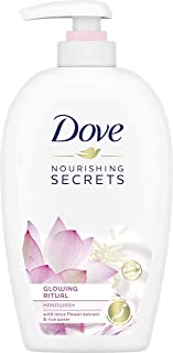 Dove Nourishing Secrets Glowing Ritual Hand Wash With Lotus Flower Extract And Rice Milk, 250ml