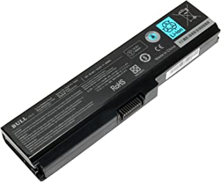 Bull 10.8V 48Wh New Laptop Battery for Toshiba PA3817U-1BRS PA3818U-1BRS PA3819U-1BRS PABAS227 PABAS228; A660 C655 L600 L675 L675D L700 L745 L750 L755 M640 M645 P745