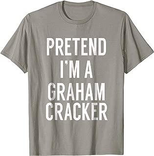 SMORES Pretend I'm a Graham Cracker Easy Group Costume Shirt