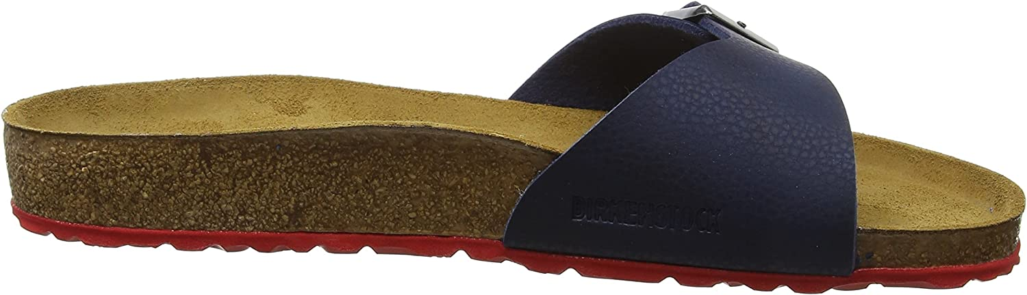 Birkenstock Madrid Birko-Flor (Bk1011558), Mules Homme Bleu Desert Soil Night Ls Red Desert Soil Night Ls Red