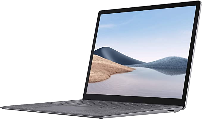 """Microsoft Surface Laptop 4 13.5"""" Touch-Screen – AMD Ryzen 5 Surface Edition - 16GB Memory - 256GB Solid State Drive (Latest Model) - Platinum 