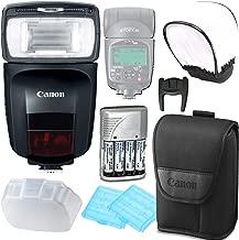 Canon Speedlite 470EX-AI Flash w/Rechargeable Battery Pack & Flash Diffuser Bundle
