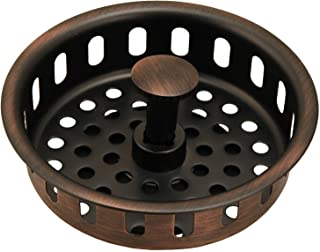 Replacement Basket for Kitchen Sink Strainers, Antique Copper Finish - By Plumb USA