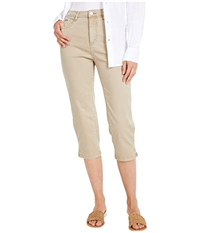 FDJ French Dressing Jeans Solid Cool Twill Suzanne Capris in Jute (Jute) Women