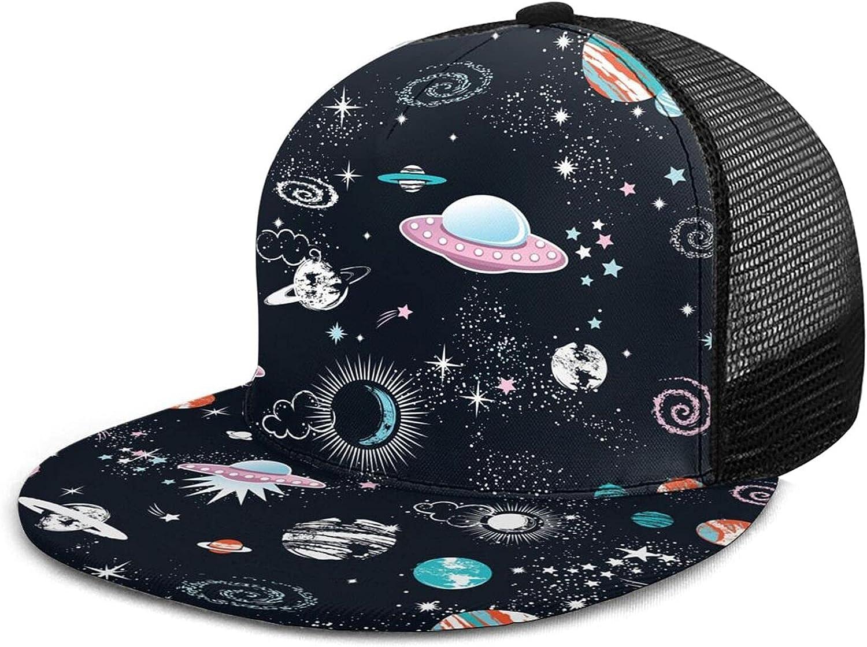 Gocerktr Baseball Cap Men Trucker Hat Women Adjustable Mesh Hat Sun Cap Crossbones Hat