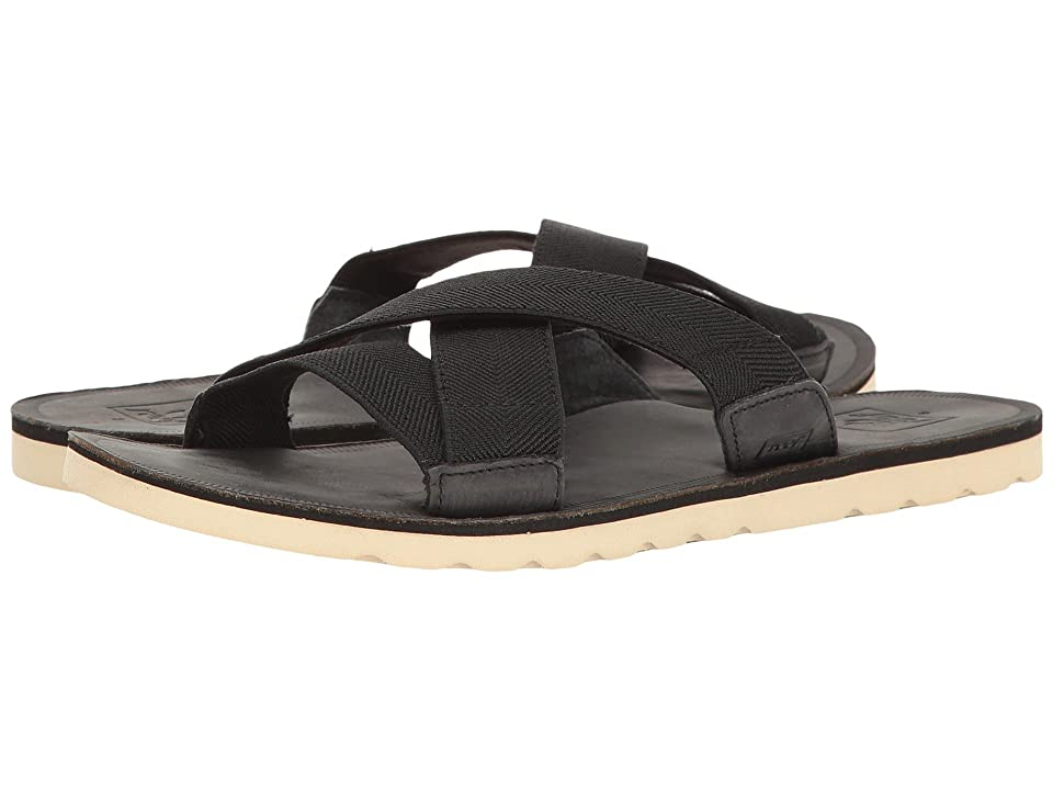 Reef Voyage Slide (Black) Women