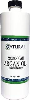 Virgin Organic Argan Oil-100% Pure Virgin Organic Argan Oil, Easy Spray Application (16 Ounce)