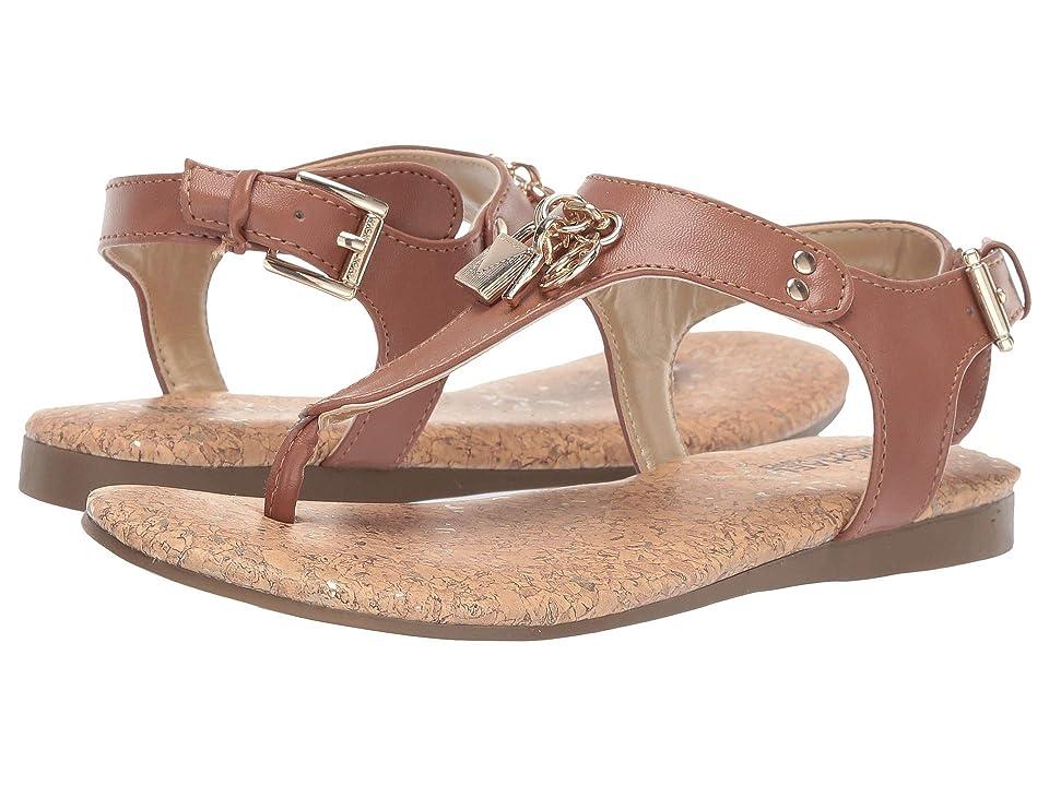 MICHAEL Michael Kors Kids Tilly Cora (Little Kid/Big Kid) (Cognac) Girls Shoes