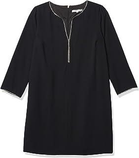 فستان ليكور مزخرف طويل الأكمام للنساء من ترينا ترك