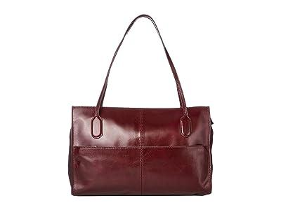 Hobo Friar (Deep Plum) Shoulder Handbags