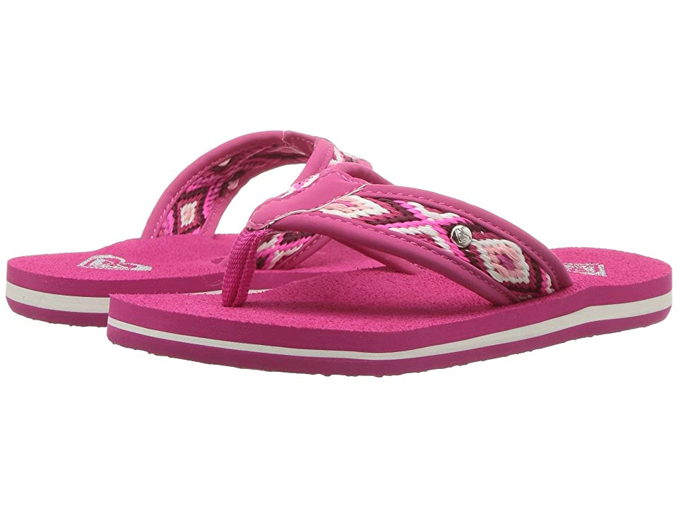 Roxy Kids Saylor (Little Kid/Big Kid) (Pink) Girls Shoes