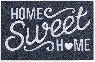 Welcome Door Mat Outdoor Indoor with Non Slip Rubber Backing Home Sweet Home Ultra Absorb Mud Easy Clean Front Entrance He...