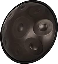 Happybuy Handpan In D Minor 9 Notes 22 inches Steel Hand Drum with Soft Hand Pan Bag Hand Pan Steel Drum 2 (22