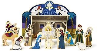 Melissa & Doug 13858 Christmas Nativity Set, Multicoloured