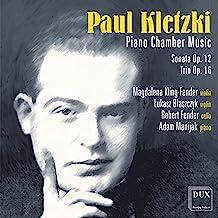 Kletzki Violin Sonata Piano Trio
