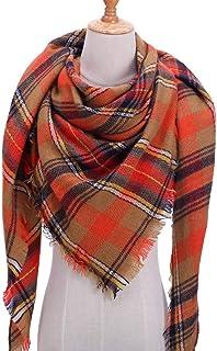 Schal Marke Frauen Schal Plaid Winter Warme Kaschmir Schals Dreieck Strickhals Schals Und Wickel Weibliche Decke