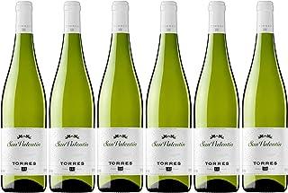 San Valentín, Vino Blanco - 6 botellas de 75 cl, Total:
