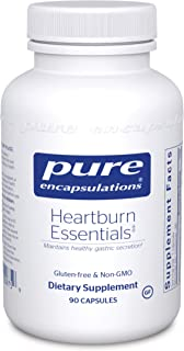 Pure Encapsulations - Heartburn Essentials - Dietary Supplement Helps Decrease Occurrences of Occasional Heartburn and Ind...