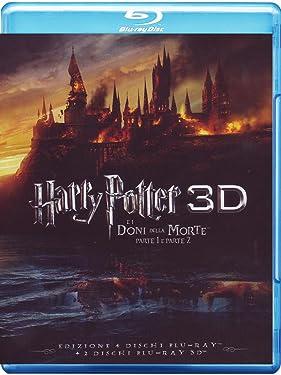Harry Potter E I Doni Della Morte - Parte 01-02 (3D) (4 Blu-Ray+2 Blu-Ray 3D) [Italian Edition]