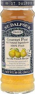 St Dalfour Gourmet Pear 100 Fruit Spread 10 oz 284 g