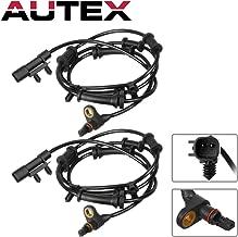AUTEX 2PCS ABS Wheel Speed Sensor Front Left & Right ALS1918 68003281AA, 68003281AC, ALS1918 For 2007 2008 2009 2010 2011 2012 2013 2014 Jeep Wrangler 3.6L 3.8L