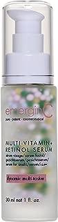 emerginC MultiVitamin + Retinol Serum - Micro-Encapsulated Spheres + Vitamin C to Help Combat Visible Signs of Aging, Sensitive Skin + Minor Redness (1.0 Ounces, 30 Milliliters)