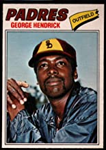 Baseball MLB 1977 O-Pee-Chee #218 George Hendrick Padres