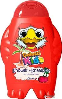 Colutti Kids Shower & Shampoo 300ml - für Haut und Haar - Kirsche - Kinder Duschgel und Shampoo - pH hautneutrale Pflege für Kinderhaut - Super Dufterlebnis für Kinder - 2 in 1
