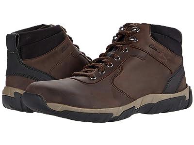Clarks Grove Hike (Brown Leather Waterproof) Men