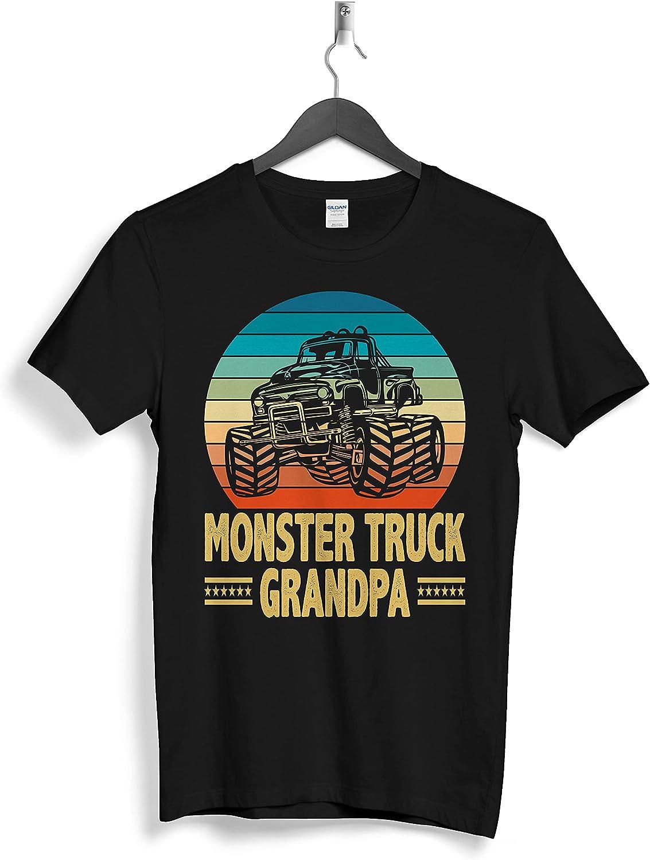 Monster Truck Grandpa Custom Personalized Gifts T-Shirts