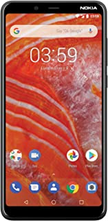 "Nokia 3.1 Plus - Android 9.0 Pie - 32 GB - 13 MP Dual Camera - Single SIM Unlocked Smartphone (AT&T/T-Mobile/MetroPCS/Cricket/Mint) - 6.0"" HD+ Screen - Charcoal"