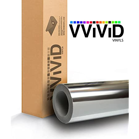 VViViD Matte Black Vinyl Wrap Adhesive Film 24 Inches x 12 Inches Air Release Decal Sheet