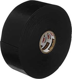 Scotch(R) Linerless Rubber Splicing Tape 130C, 1-1/2 in x 30 ft, Black, 1 roll/carton