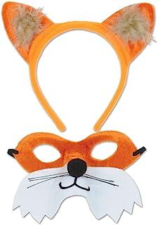 Beistle Fox Headband & Mask Set, , Multicolored