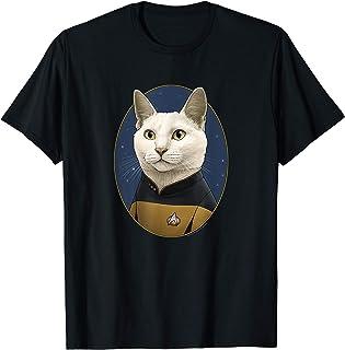 Star Trek Data Cat Formation T-Shirt