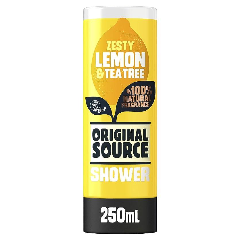 拍車ゼリー仕事Cussons Lemon and Tea Tree Original Source Shower Gel by PZ CUSSONS (UK) LTD