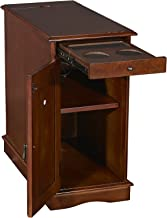 Powell Furniture 15A2017HA Butler Accent Table, Hazelnut, Small