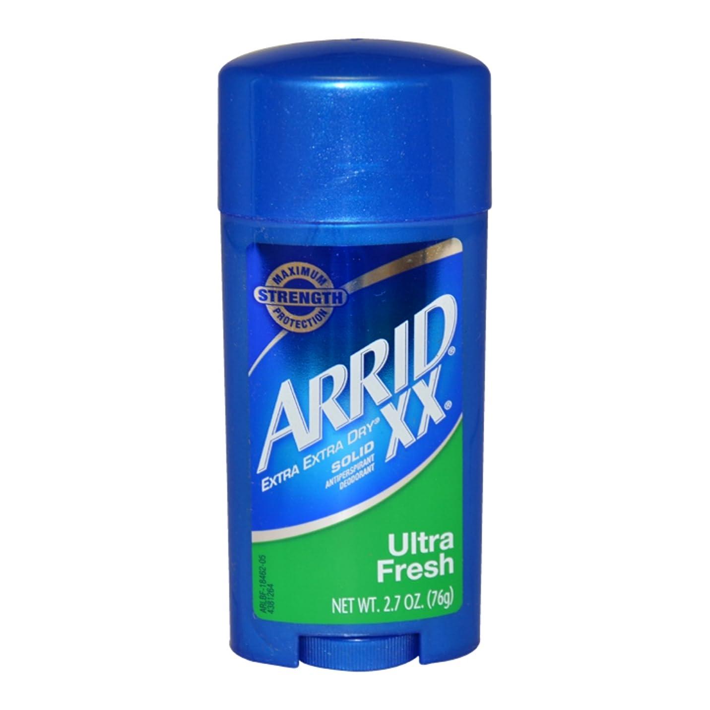 定義する若者プロペラArrid XX Antiperspirant Deodorant, Solid, Ultra Fresh - 2.7 oz (76 g) アリッド デオドラントソリッドウルトラフレッシュ [並行輸入品]
