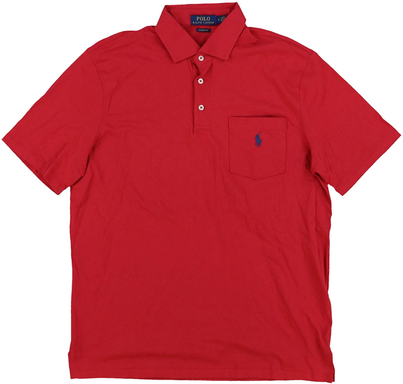 Polo Ralph Lauren Mens Interlock Pocket Polo Shirt