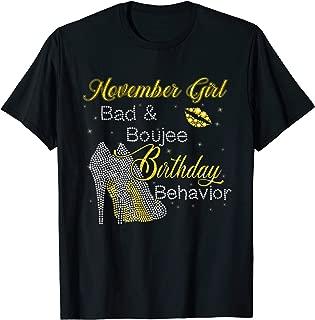 bad and boujee birthday shirt
