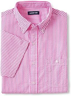 Sponsored Ad - Lands' End Men's Traditional Fit Short Sleeve Seersucker Shirt